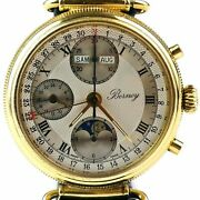 Berney - Swiss Made Chrono 7751 Automatic Moon-phases Full Calendar Watch
