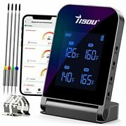 Wireless Bluetooth Meat Thermometer With 4 Probes Smart Lcd Digital Bbq Grill