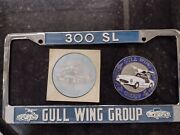 License Plate Frame And Grille Badge W198 Gullwing Group Plus Sticker 300sl