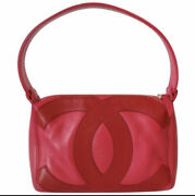 💖 As New Authentic Vintage Hot Pink Leather Hand Bag 💖