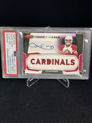 2020 Panini Certified Kyler Murray Fabric Of The Game Patch/auto 11/25 Psa 6