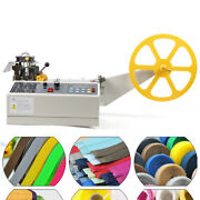 New Hot / Cold Tape Cutting Machine Ribbons Sheet Metal, Backpack Straps Cutter