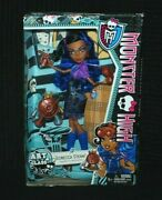 Monster High Art Class Robecca Steam Doll - Box Badly Damaged And Open
