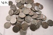 100x 1943 P/d/s Steel Lincoln Penny Cent Lot 2 Rolls - 100 Coins