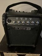Line 6 Micro Spider Amplifier, New For Guitar, C Battery And Ac Adapter Power