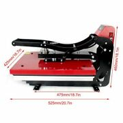 Heat Press Machine 16x20 Auto Open Clamshell T-shirt Press For Clothes Bags 2kw