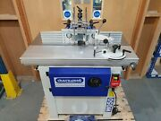Ex Display Charnwood W050 Woodworking Spindle Moulder With Sliding Carriage