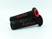 Domino Road Race Black And Red A010 Full Diamond Grips To Fit Beta Bikes