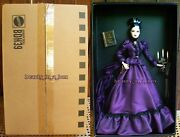 Mistress Of The Manor Barbie Doll Haunted Beauty Collection Shipper Gold Label
