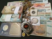 World/foreign Coins Paper Money Various Countries Old Coin Lots Collectibles