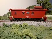 Ho Trains Inc. Brass Nyc Wood Caboose Painted Detailed.