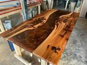 60x32 Epoxy Resin Wooden Center Coffee Table Top Home Furniture K9