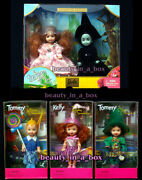 Wicked Witch Kelly Doll Glinda Wizard Of Oz Exc Boxes Lot 5 Munchkins Barbie