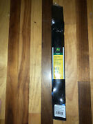 John Deere 2 Pack Gy20567 Replacement Lawn Mower Blades Mulches Bags 42 In New