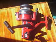 Vintage Abu Garcia Cardinal 355 Spinning Fishing Reel/red , Excellent Condition