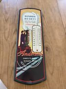 Vintage Mcm Style Andersen Windows Advertising Thermometer Store Display 24andrdquo