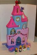 Fisher Price Little People Disney Princess Magical Wand Castle Palace Play Set +