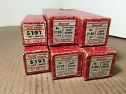 Vintage Lot Of Starrett 4s190 And 2s191 Jack Screws Complete With Boxs