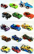 15 Vintage Mixed Cars Hot Wheels Toy State Industrial Cars - Play Music Beep