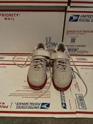 Adidas Powerlift 3.1 Weightlifting Shoe Size- 9.5 Chalk Pearl/scarlet