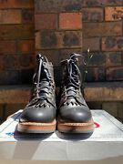 White's Boots 'dr 375 Semi-dress Boot' Black Waxed Flesh Us 7.5 D, Made In Usa