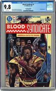 Blood Syndicate Milestone 1du Direct Variant Unbagged No Card Cgc 9.8 1993