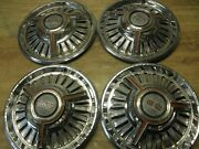1965 And 66 Chevrolet Chevelle Ss Spinner Hubcaps 4