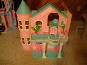 Vintage Barbie Victorian Doll House With Working Elevator Local Pick Up Only