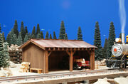 G Scale Building For Use W Lgb Accucraft Mth Lionel Train Track And Locomotives
