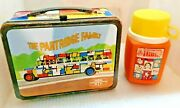1971 Partridge Family Metal Lunch Box And Thermos Tv Show Lunchbox David Cassidy