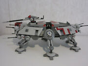 Used Complete 2008 Lego Star Wars Set 7675 At-te Walker Complete W/ Instructions