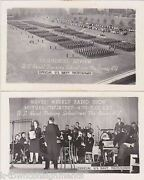 Wwii Us Naval Training School Great Lakes Illinois Waves Radio Show Photo Cards