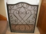 Ieuc Southern Living At Home Wellsley Fireplace Screen Tri-panel Estate Iron