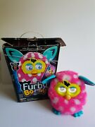 Furby Boom With Original Box Works Hasbro 2013 Pink White Dots