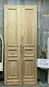 Thick Molding Antique French Double Doors European Doors Tall Pair B32