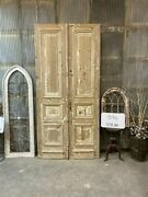 Thick Molding Antique French Double Doors European Doors Tall Pair B46