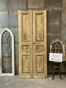 Thick Molding Antique French Double Doors European Doors Tall Pair B50