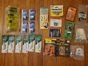 Mixed Lot Hardware New Old Stock Faucet Seat Razor Blades Hose Clamp Switch