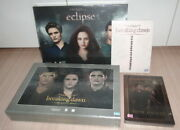 4 Twilight New Moon Eclipse Breaking Dawn Part 1+2 Thailand Boxset Dvd Collector