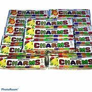 Charms Assorted Candy Lot Of 15 1 Oz. Indiv. Wrapped Candies For Collection