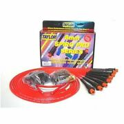 Taylor 75289 Spark Plug Wires Spiro-pro 8mm Red Hemi Boots Universal V8 New