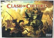 Z-man Boardgame Clash Of Cultures Collection 1- Base Game + Civilizations Ex