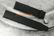 Jaeger-lecoultre Black Calfskin Strap For The Deep Sea Series Oem New