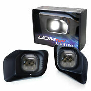 Smoked Lens Led Fog Lights W/ Bezel Covers Wirings For 2011-16 F250 F350 F450