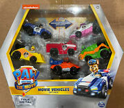 Nickelodeon Paw Patrol The Movie 2021 Movie Vehicles Gift Pack Limited Edition