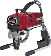 New Wagner Titan 805-000e Impact 440 Skid Airless Paint Sprayer Complete