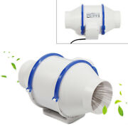 4 Inline Duct Fan Exhaust Air Blower Booster Multifunctional Air Purifier Home