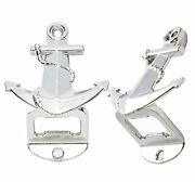 Pcs Silver Wall Mount Bottle Openers For Vintage Rustic Bar Or Anchor 8