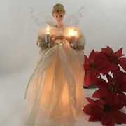 10andrdquo Lighted Christmas Angel Tree Topper