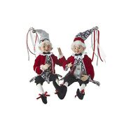 Raz Imports 2021 Christmas Time In The Village 16-inch Posable Elf Figurine ...